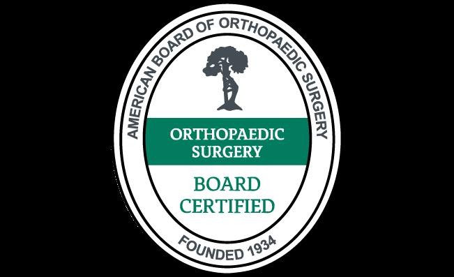 american board of orthopaedic surgery transparent